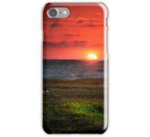 Seagull on Sunset - Sorrento - Mornington Peninsula iPhone Case/Skin