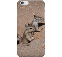 Hi from all of us iPhone Case/Skin