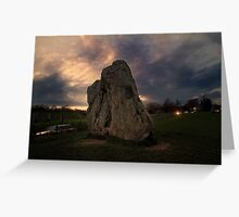 Avebury Greeting Card