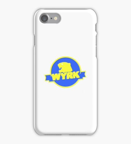 WYRK Two-Tone Logo iPhone Case/Skin