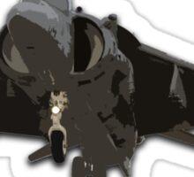 USMC Harrier Sticker