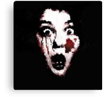 Creepy Face Canvas Print