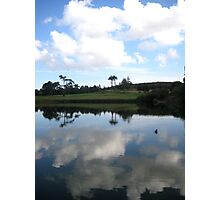 Moat Reflection Photographic Print