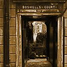 Edinburgh Close by Andy Duffus