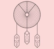 Geometric Dreamcatcher Kids Tee