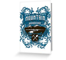 Mountain Adventure Greeting Card