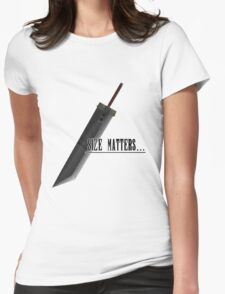 Size matters Womens Fitted T-Shirt