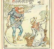 Queen Summer, or, The Tourney of the Lilly and the Rose by Walter Crane 1891 42 - And trimmed the grass and decked each seat by wetdryvac