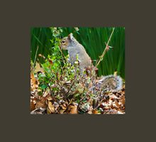 SQUIRREL HIDING IN THE GREENERY Unisex T-Shirt