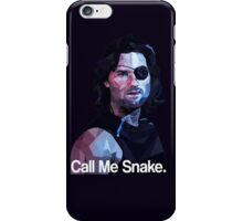 Call me snake. iPhone Case/Skin