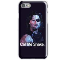 Call me snake. iPhone Case/Skin