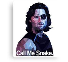 Call me snake. Canvas Print