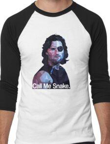 Call me snake. Men's Baseball ¾ T-Shirt