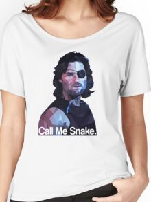 Call me snake. Women's Relaxed Fit T-Shirt