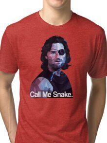 Call me snake. Tri-blend T-Shirt