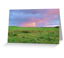 Moody Clare Sky Greeting Card
