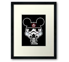 Stormtrooper Mickey Framed Print