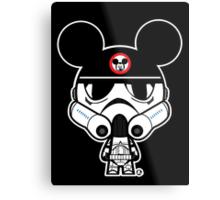 Stormtrooper Mickey Metal Print