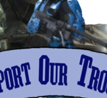 Support Our Troops - Blue Team Sticker