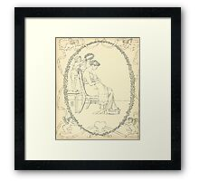 The Buckle My Shoe Picture Book by Walter Crane 1910 60 - Mid Plate Framed Print
