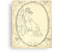 The Buckle My Shoe Picture Book by Walter Crane 1910 60 - Mid Plate Canvas Print