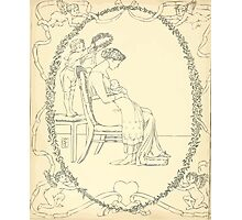 The Buckle My Shoe Picture Book by Walter Crane 1910 60 - Mid Plate Photographic Print