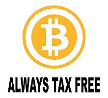 Bitcoin tax free Photographic Print