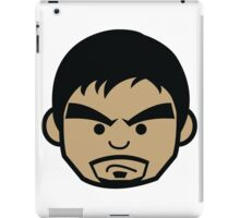 Angry Manny Pacquiao Face by AiReal  iPad Case/Skin