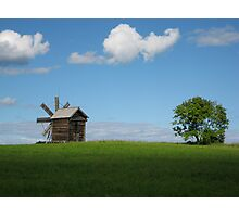 Kizhi Island Windmill Photographic Print