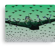 Halifax Bomber Canvas Print