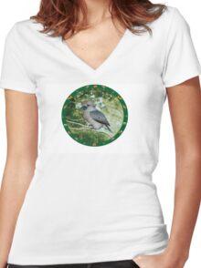 Kookaburra Women's Fitted V-Neck T-Shirt