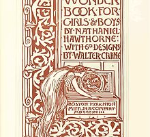 A Wonder Book for Girls and Boys by Nathaniel Hawthorne illustrated by Walter Crane 13 - Interior Plate by wetdryvac
