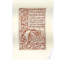 A Wonder Book for Girls and Boys by Nathaniel Hawthorne illustrated by Walter Crane 13 - Interior Plate Poster