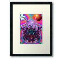 Space Traveller Framed Print