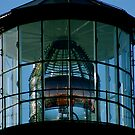 Yaquina Head Light House Lens by Julie Beitzel