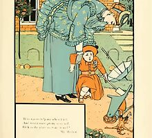 The Buckle My Shoe Picture Book by Walter Crane 1910 71 - Who Ran to Help Me When I Fell by wetdryvac