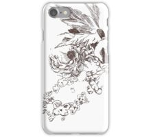 Floral Lines iPhone Case/Skin