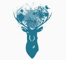 Oh Deer blue Kids Clothes