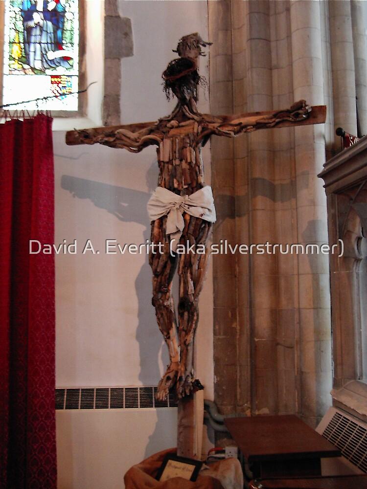Christ On The Cross by David A. Everitt (aka silverstrummer)