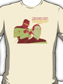 Geordi and Data T-Shirt