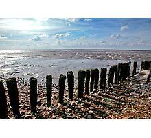 The Wash near Snettisham, West Norfolk. Photographic Print