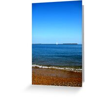 Dover Beach Greeting Card