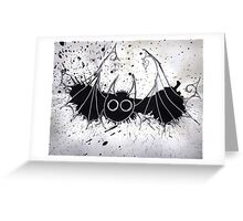 The Silver Lining on the Bat Greeting Card