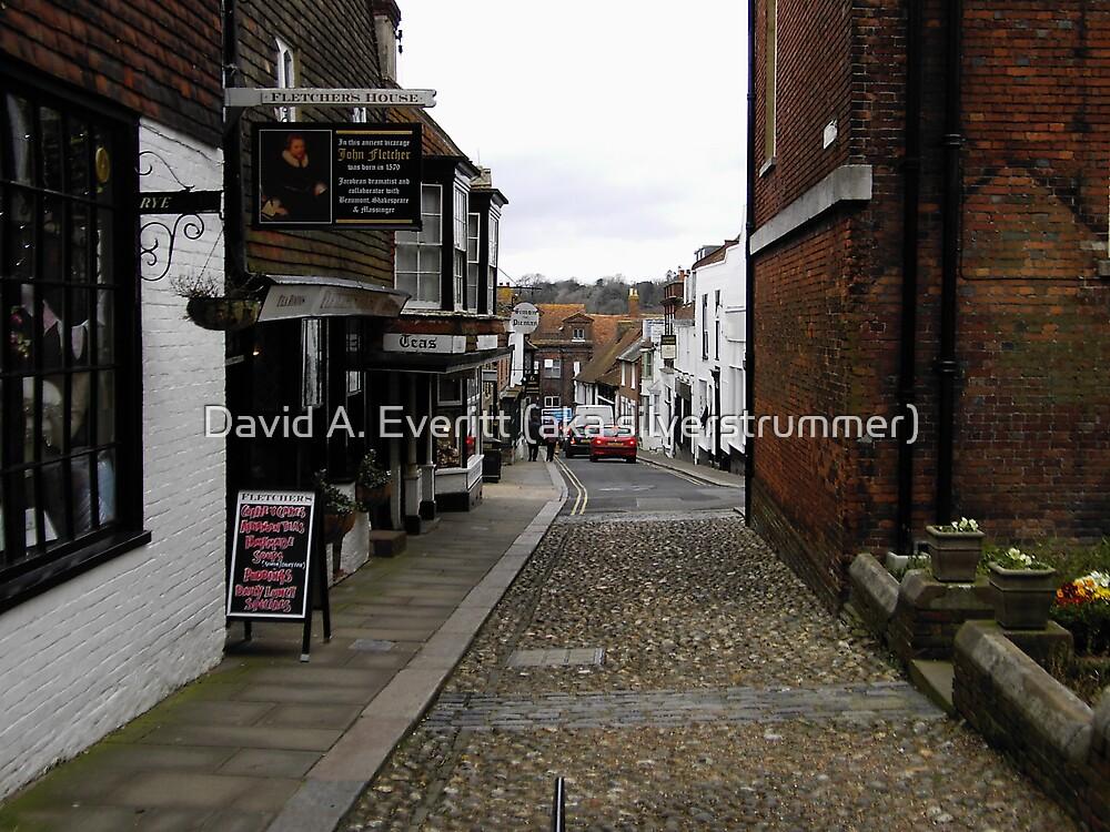 A Street In Rye by David A. Everitt (aka silverstrummer)
