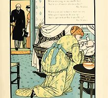The Buckle My Shoe Picture Book by Walter Crane 1910 65 - Who Sat and Washed My Newborn Head by wetdryvac