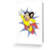 Mighty Mouse  Greeting Card