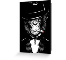 Monkey Mafia Greeting Card