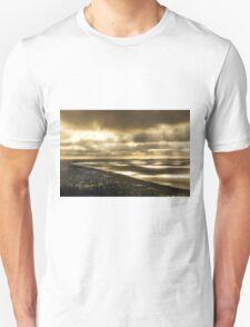 Outlook from Arthur's Seat, Mornington Peninsula - sunrays between clouds. Unisex T-Shirt