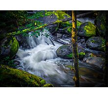 Little River in a Rush. Photographic Print