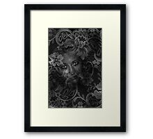 Lace Framed Print